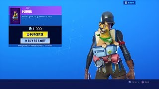 *NEW* GUNNER Fortnite Item Shop SKINS Update | Item Shop August 13! (Fortnite Battle Royale Live)