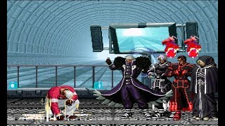 MUGEN KOF Yashiro Vs. Super NESTS Team