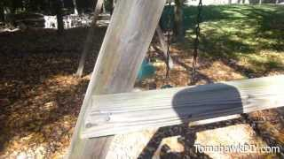 How To Build Backyard Swing Set - Easy & Low Cost!