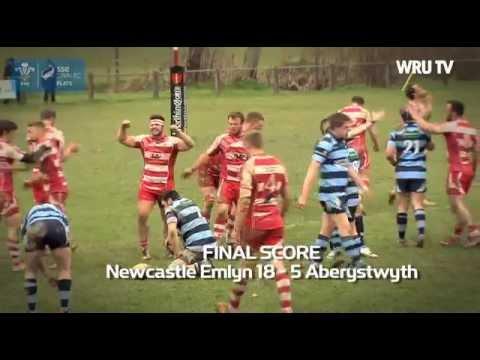 SSE SWALEC Plate: Newcastle Emlyn V Aberystwyth | WRU TV