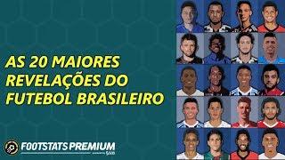 AS 20 MAIORES REVELAÇÕES DO FUTEBOL BRASILEIRO (TOP 20 BRAZILIAN YOUNG PLAYERS)