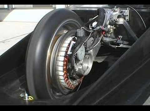 TIGA 可変界磁モーター  variable field magnet motor  Solar Car