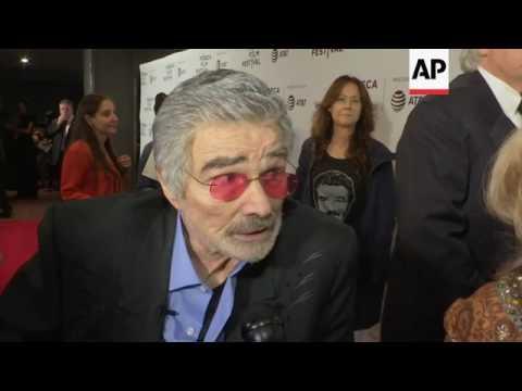 Burt Reynolds makes rare public appearance for Tribeca Film Festival premiere of his latest film 'Do