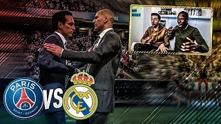 REAL MADRID vs PSG: RESULTAT VRAIMENT INCROYABLE D'APRES FIFA 18... !