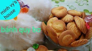 #40 cách làm bánh quy bơ - bánh quy bơ thơm giòn - bánh quy bơ làm tại nhà ngon như danisa