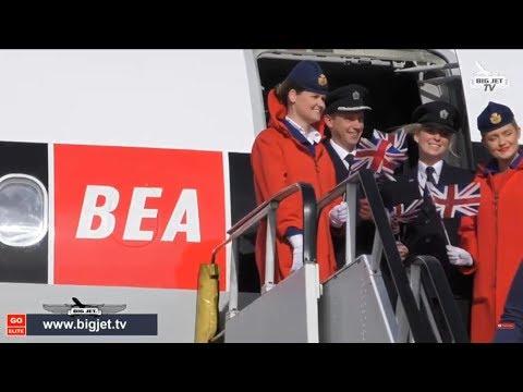 British Airways Centenary Celebrations - LIVE! #BA100 #BEA