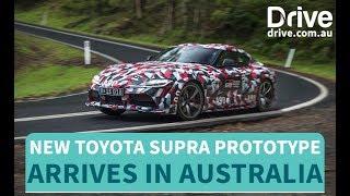 Toyota Supra Prototype In Australia   Drive.com.au