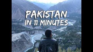 PAKISTAN in 11 Minutes || Travelogue || Daniyal Sheikh