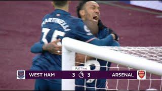 West Ham vs Arsenal 3:3   Pregled Utakmice HD   SPORT KLUB FUDBAL