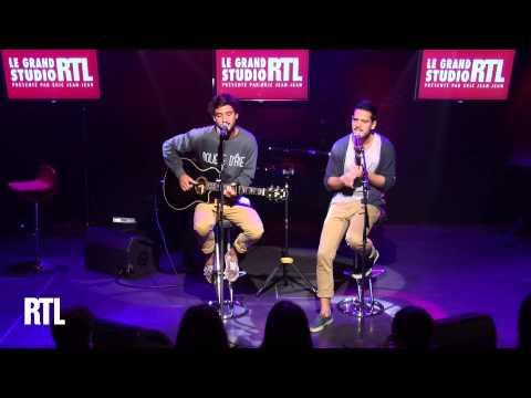 Frero Delavega - Sweet darling en live dans le Grand Studio RTL - RTL - RTL