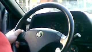 Alfa Romeo 164 Super V6 TB - Test drive