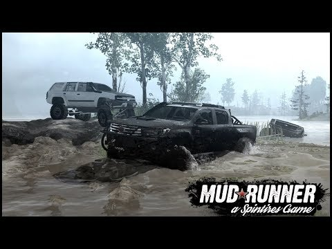 Spintires: MudRunner - Multiplayer - STUCK IN DEEP MUD - Multiplayer