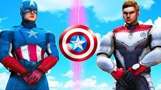 CAPTAIN AMERICA VS CAPTAIN AMERICA - ENDGAME BATTLE