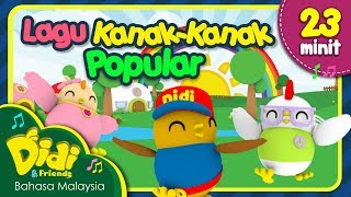 Gambar cover Kalau Rasa Gembira | Koleksi Lagu Kanak-Kanak Popular | Didi & Friends | 23 Minit