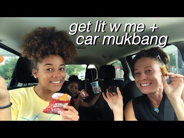 Get Lit Playlist + Car Mukbang | Azlia Williams