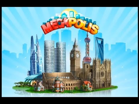 Let's Play Megapolis HD Part 1 on iPad