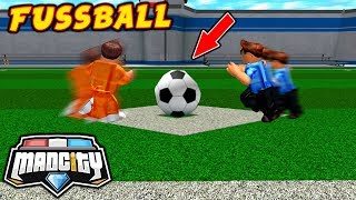 ⚽ *FOOTBALL MODE* IN MAD CITY ROBLOX
