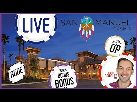 🔴 LIVE PLAY SLOTS ✦ Recorded at San Manuel Casino ✦ with Brian Christopher