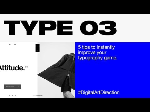 5 tips to instantly improve your typography game — Typography Tutorial 03