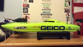 Pro Boat Miss Geico 29 Catamaran V3 RC Boat - UNBOXING !!