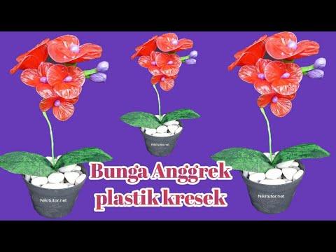 Membuat bunga anggrek