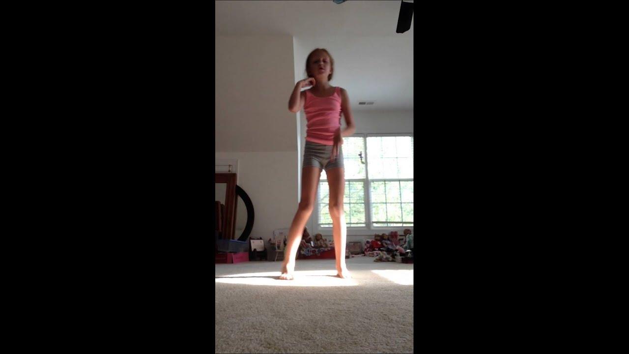 Random gymnastics! (The other gymnastics video got deleted)