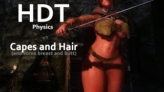 Skyrim HDT Physics - Capes and Hair