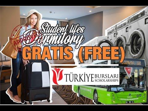 8 Fasilitas HOTEL BERBINTANG asrama Mahasiswa di Turki / YTB/KYK GRATIS!