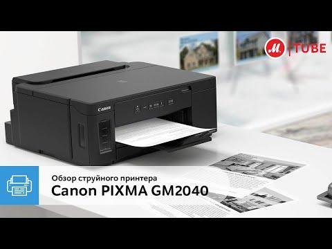 Баланс качества и цены: обзор струйного принтера Canon PIXMA GM2040