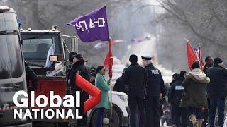 Global National: Feb. 24, 2020 | Rail blockades come down but tensions remain