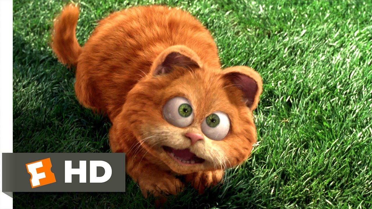 Garfield 2 5 Movie Clip Odie Saves Garfield 2004 Hd Youtube