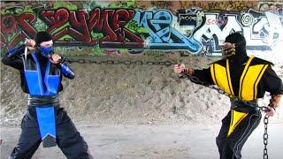 Baixar REAL MORTAL KOMBAT - Scorpion vs Sub Zero FIGHT! (MK Parody)