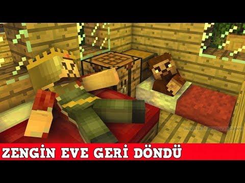 ZENGİN VS FAKİR #127 - Zengin Eve Geri Döndü (Minecraft)