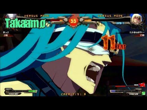 GGXrdR2 4/14/17 - Takaamo (Zato) Matches