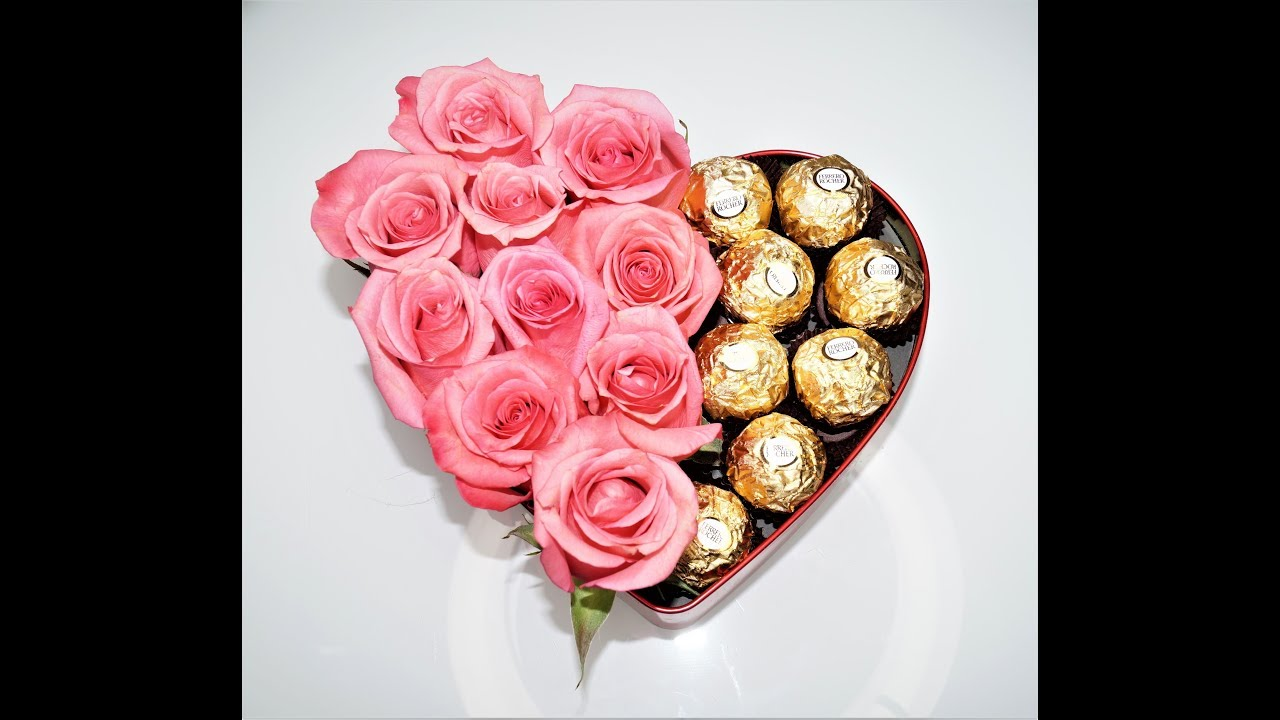 how to make a chocolate bouquet in a box » Beautiful Flowers 2019 ...