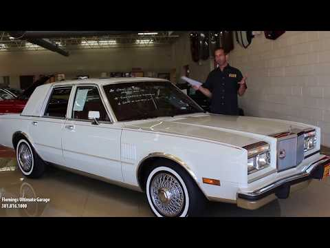 '85 Chrysler 5th Ave For Sale With Test Drive, Driving Sounds, And Walk Through Video