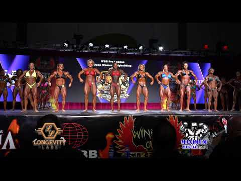 First Call Outs   Women's Bodybuilding   IFBB Chicago Pro 2020