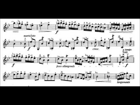 Vivaldi in G Minor Violin Sheet Music