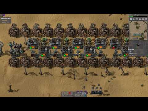 Factorio Sandbox: Beaconed steel - tricks with buffer chests
