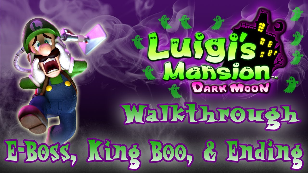 Luigi S Mansion Dark Moon Walkthrough B 3 Graveyard Shift