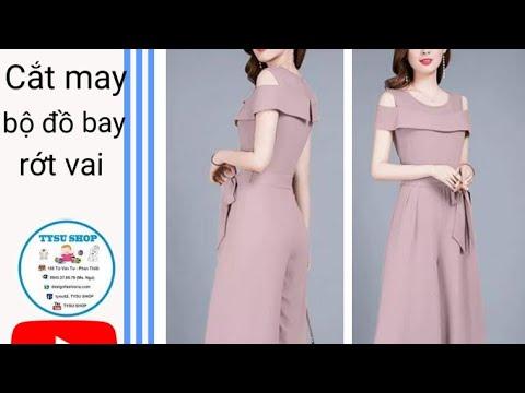 Dạy Cắt May Bộ Đồ Bay Rớt Vai _760_tysushop|sewing diy clothes