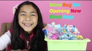 Monday Blind Bag Bin  My Little Pony,mcdonalds Happy Meal, Shopkins Baskets,spongebob,care Bears