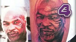 Mike Tyson Loves This Amazing Tattoo Of Himself | Tattoo Fixers
