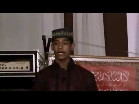 Speech by Syed Ali Hyder, CHICAGO,USA