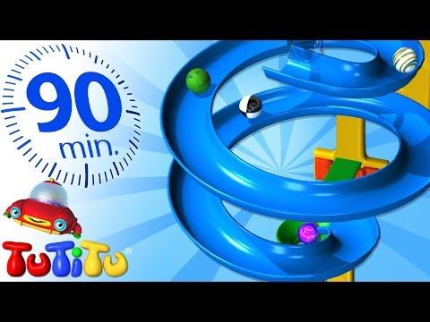 TuTiTu Deutsch | Murmelbahn | Und andere pädagogische Spielzeuge | 90 Minuten Spezial