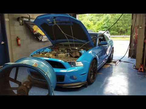 750rwhp GT500 w/ Th400 on the Dyno