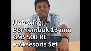 Bosch GSB 500 RE 10mm Bor Tangan Listrik Impact dengan Aksesoris