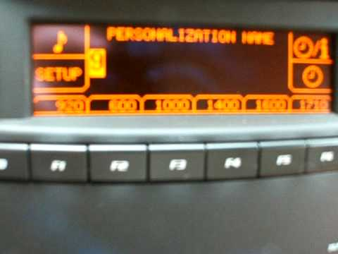 Quot How To Quot 2003 2007 Cadillac Cts Personalization Name
