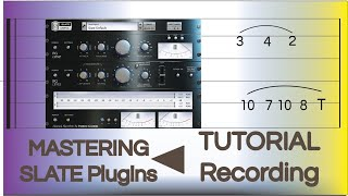 Mastering with Cubase 10 & Slate Plug ins
