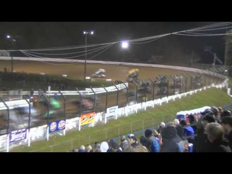 Williams Grove Speedway World of Outlaws Highlights 5-16-14